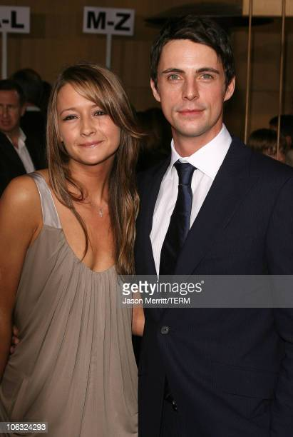 Matthew Goode during The Lookout Los Angeles Premiere Arrivals at Egyptian Theater in Hollywood California United States