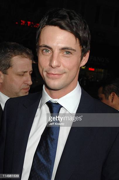 Matthew Goode during The Lookout Los Angeles Premiere Red Carpet at Egyptian Theater in Hollywood California United States