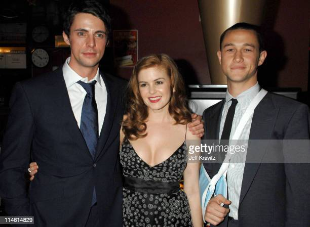 Matthew Goode Isla Fisher and Joseph GordonLevitt