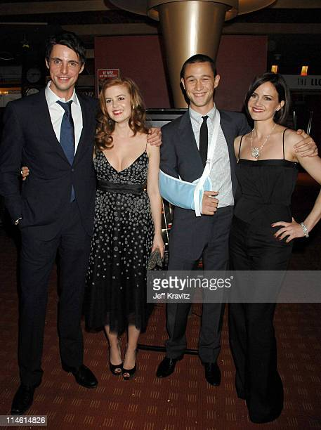 Matthew Goode Isla Fisher Joseph GordonLevitt and Carla Gugino