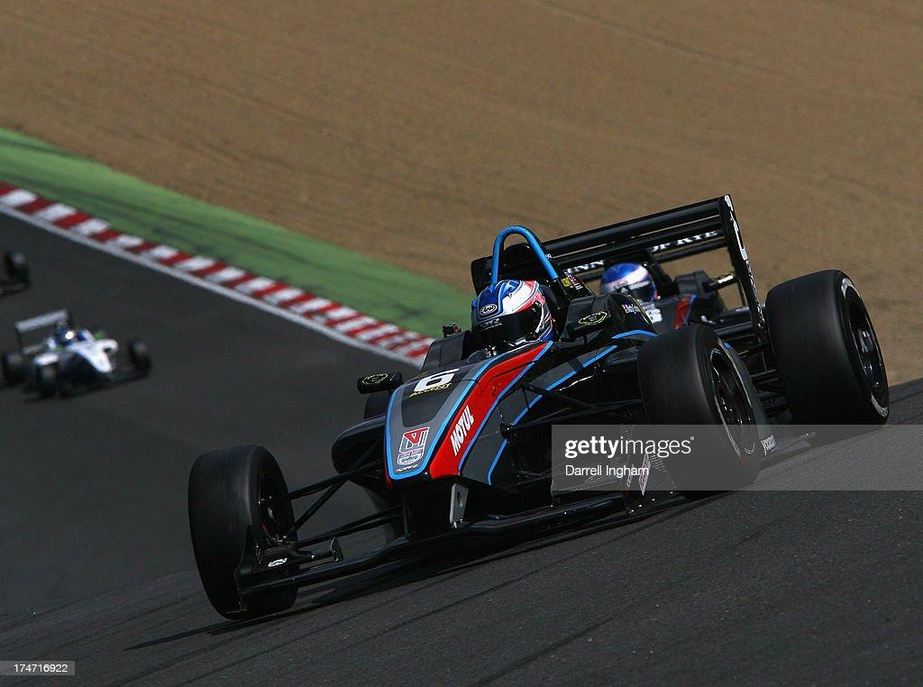 Matthew Graham drives the Sean Walkinshaw Racing MSV F4-013