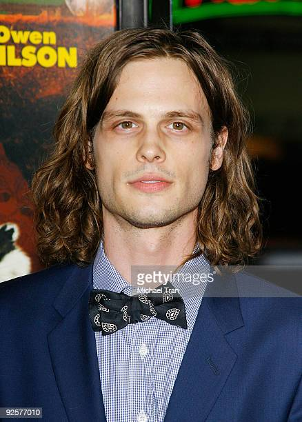 Matthew Gray Gubler arrives to the 2009 AFI Festival opening night featuring 'Fantastic Mr Fox' held at Grauman's Chinese Theatre on October 30 2009...