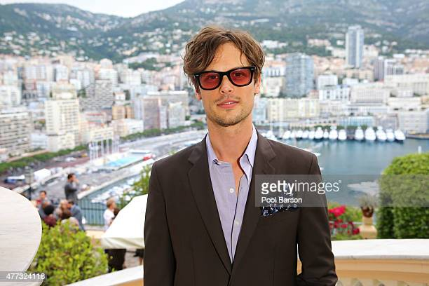 Matthew Gray Gubler attends Cocktail Reception at the Ministere d'Etat on June 15 2015 in MonteCarlo Monaco