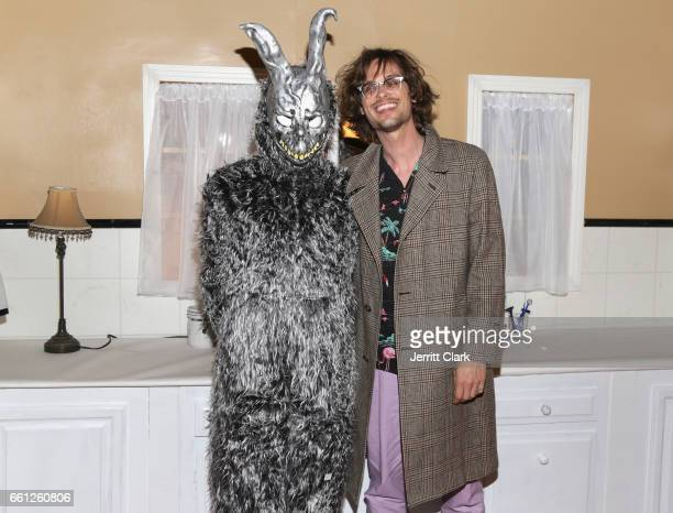 Matthew Gray Gubler attends the 15th Anniversary Theatrical ReRelease Of Donnie Darko at the Vista Theatre on March 30 2017 in Los Angeles California