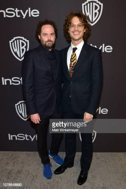 Matthew Gray Gubler attends the 2019 InStyle and Warner Bros 76th Annual Golden Globe Awards PostParty at The Beverly Hilton Hotel on January 6 2019...