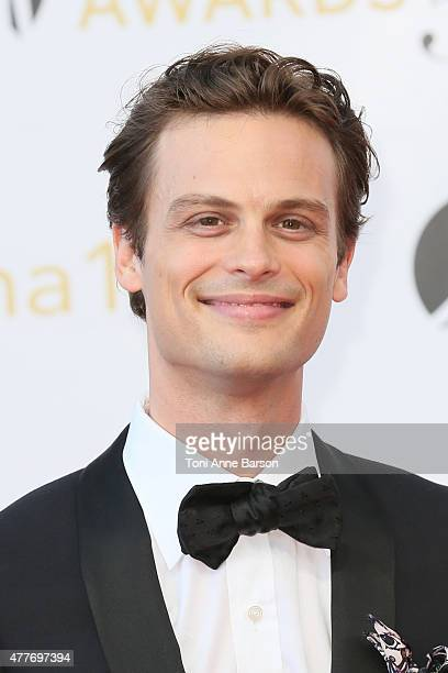 Matthew Gray Gubler attends the 55th Monte Carlo TV Festival Closing Ceremony and Golden Nymph Awards at the Grimaldi Forum on June 18 2015 in...