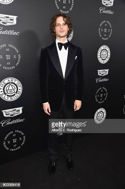 Matthew Gray Gubler attends The Art Of Elysium's 11th Annual Celebration on January 6 2018 in Santa Monica California