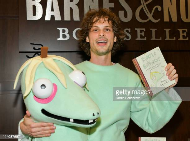 Matthew Gray Gubler celebrates his new book Rumple Buttercup A Story of Bananas Belonging and Being Yourself at Barnes Noble at The Grove on April 06...