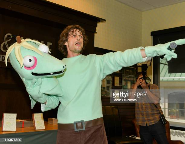 """Matthew Gray Gubler celebrates his new book """"Rumple Buttercup: A Story of Bananas, Belonging, and Being Yourself"""" at Barnes & Noble at The Grove on..."""