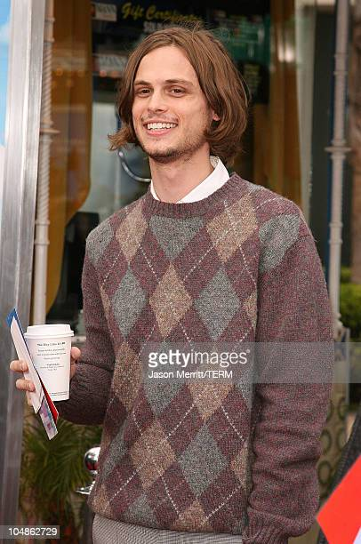 Matthew Gray Gubler during RV Los Angeles Premiere Arrivals at Mann Village Theatre in Westwood California United States