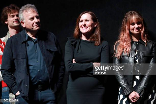 Matthew Gray Gubler Paul Reiser Molly Shannon and Debby Ryan attend the 2020 Sundance Film Festival Horse Girl Premiere at The Ray on January 27 2020...