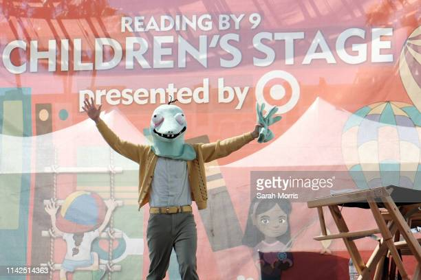 Matthew Gray Gubler speaks at the 2019 Los Angeles Times Festival of Books at USC on April 13 2019 in Los Angeles California