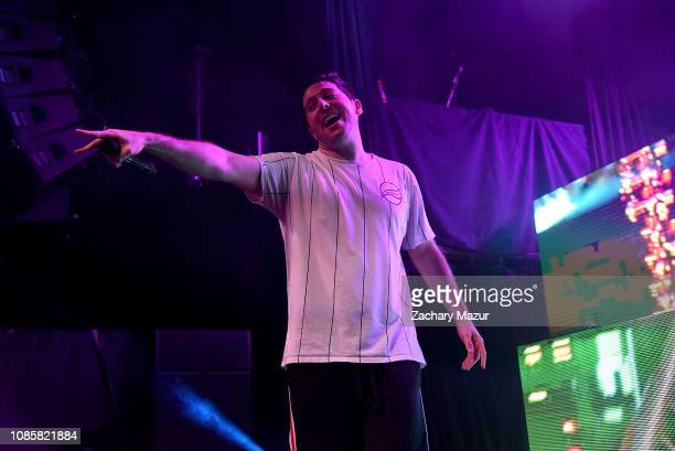 Matthew Halper of Two Friends performs during the With My Homies Tour at Irving Plaza on January 19, 2019 in New York City.