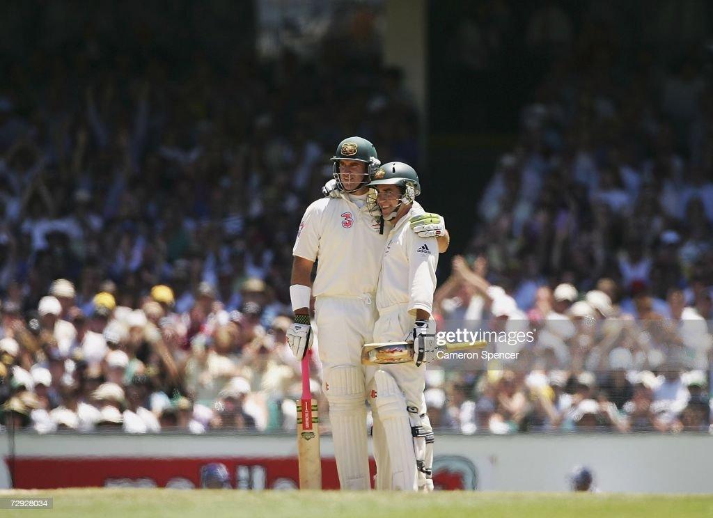 Fifth Test - Australia v England: Day Four : News Photo