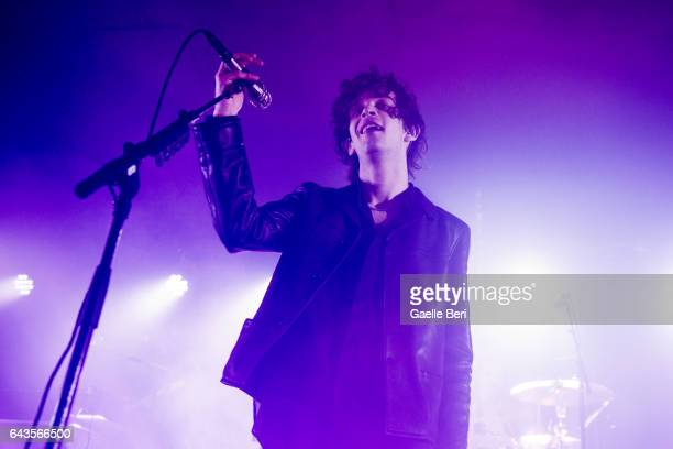 Matthew Healy of The 1975 performs at The Dome Tufnell Park on February 21 2017 in London England