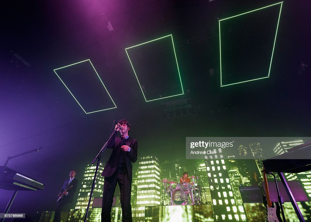 Matthew Healy of The 1975 performs on stage at PNE Forum on May 1 2017 & The 1975 Performs At PNE Forum Photos and Images   Getty Images azcodes.com