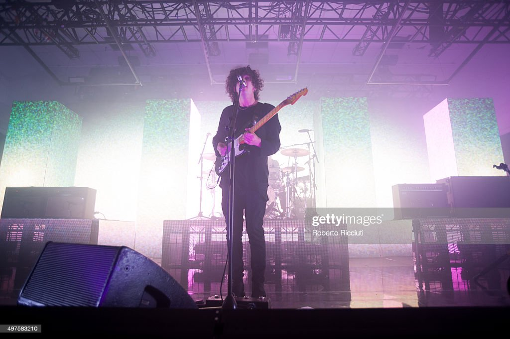The 1975 Perform At The Corn Exchange In Edinburgh : News Photo