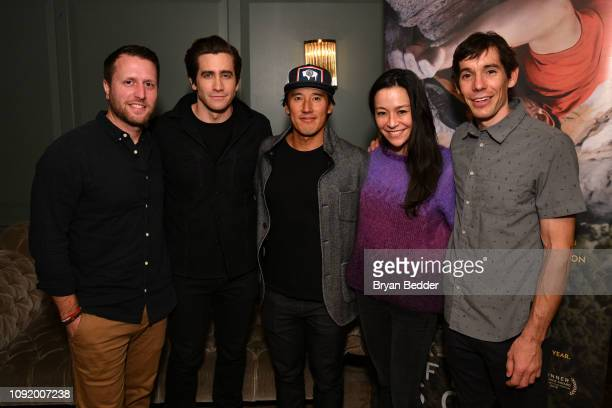 Matthew Heineman actor Jake Gyllenhaal Free Solo Director Producer and Cinematographer Jimmy Chin Free Solo Director and Producer E Chai Vasarhelyi...