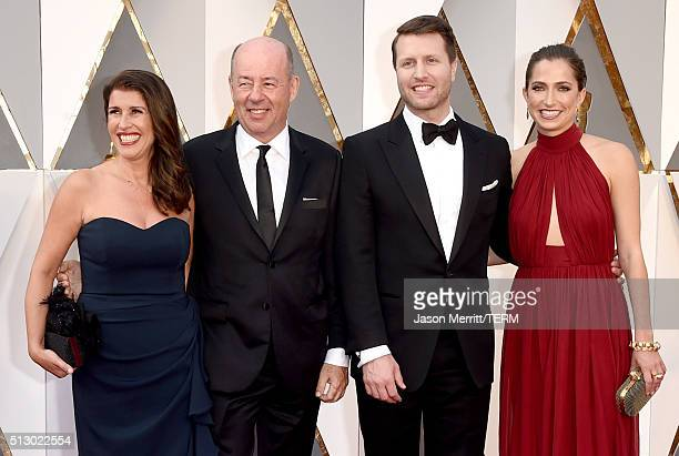 Matthew Heineman and Tom Yellin attend the 88th Annual Academy Awards at Hollywood Highland Center on February 28 2016 in Hollywood California