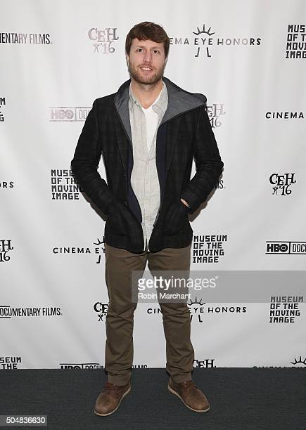 Matthew Heineman attends Cinema Eye Honors at Museum of Moving Image on January 13 2016 in New York City