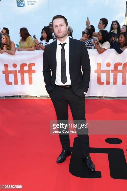 Matthew Heineman attends the A Private War premiere during 2018 Toronto International Film Festival at Roy Thomson Hall on September 14 2018 in...
