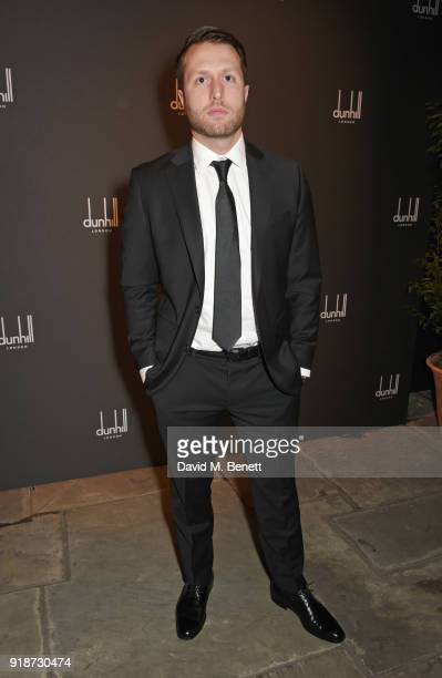 Matthew Heineman attends the Dunhill GQ preBAFTA filmmakers dinner and party cohosted by Andrew Maag Dylan Jones at Bourdon House on February 15 2018...