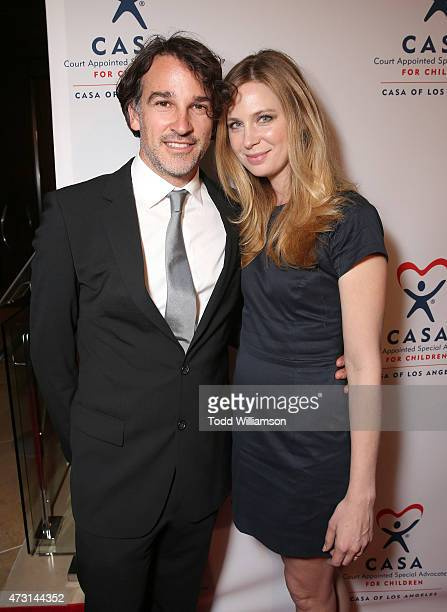 Matthew Heller and Anne Dudek attends the CASA Evening To Foster Dreams Gala at The Beverly Hilton Hotel on May 12 2015 in Beverly Hills California