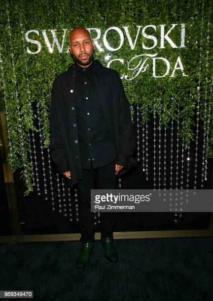 Matthew Henson attends the 2018 CFDA Fashion Awards' Swarovski Award For Emerging Talent Nominee Cocktail Party at DUMBO House on May 16 2018 in New...