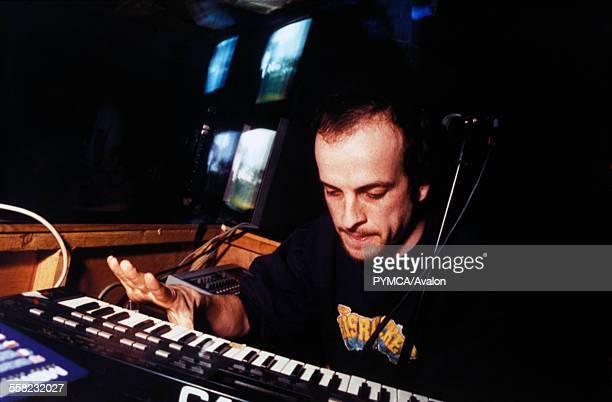 Matthew Herbert performing at Homelands, UK 1999.