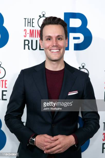 Matthew Hoffman attends red carpet event featuring business influencers celebrities and leading network executives gather to celebrate Brant...