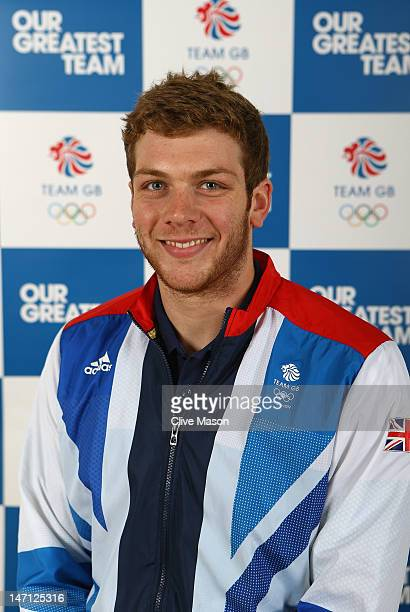 Matthew Holland poses for a photograph during the announcement of the Team GB Water Polo Athletes for the London 2012 Olympic Games at the Manchester...