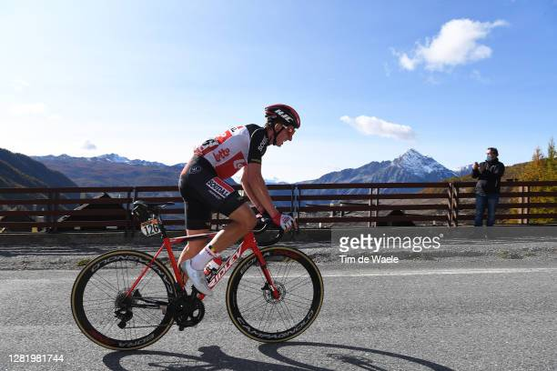 Matthew Holmes of The United Kingdom and Team Lotto Soudal / Breakaway / during the 103rd Giro d'Italia 2020, Stage 20 a 190km stage from Alba to...