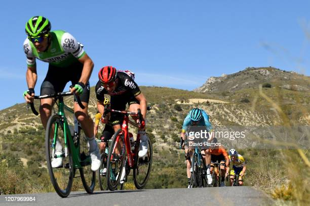 Matthew Holmes of The United Kingdom and Team Lotto Soudal / Hugo Houle of Canada and Astana Pro Team / during the 66th Vuelta a Andalucía - Ruta del...
