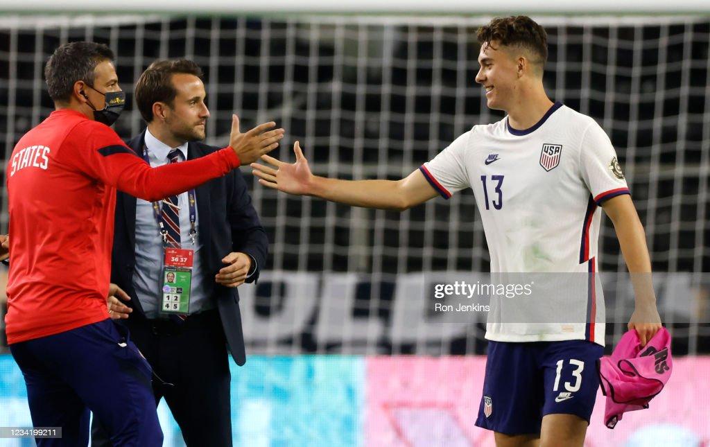 United States v Jamaica: Quarterfinals -2021 CONCACAF Gold Cup : News Photo