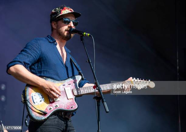 Matthew Houck of Phosphorescent performs during day 3 of Shaky Knees Music Festival at Atlanta Central Park on May 05, 2019 in Atlanta, Georgia.
