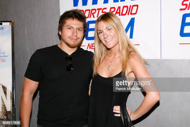 Matthew Isaacs and Danielle Gregory attend BIG FAN Premier and Afterparty at Headquarters at 552 W 38th St on August 25 2009 in New York City