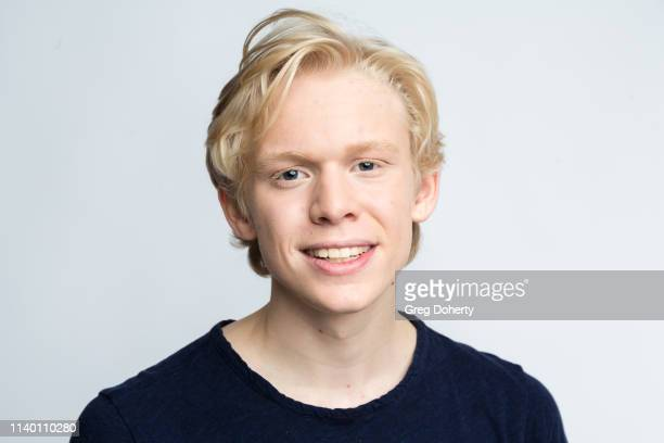 Matthew Jensen attends the Kids Against Animal Cruelty visit to TAP The Artists Project on April 28 2019 in Los Angeles California