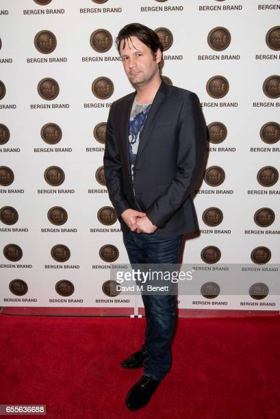 Matthew John attends the Bergen Brand Handbag launch at Wolf Badger on March 16 2017 in London England