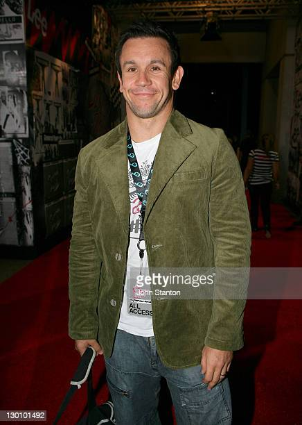 Matthew Johns during MTV Australia Video Music Awards 2006 Red Carpet at Superdome in Sydney Australia