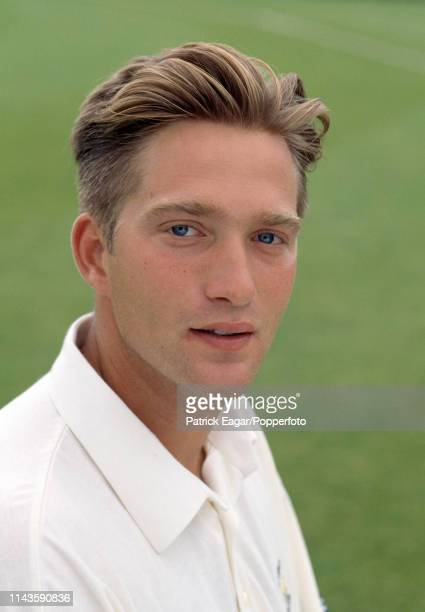 Matthew Keech of Hampshire before the Benson and Hedges Cup Semi Final between Worcestershire and Hampshire at Worcester 7th June 1994