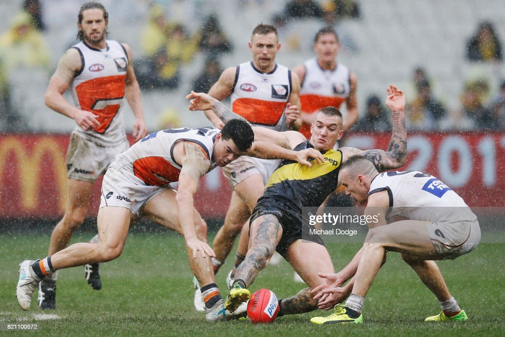 AFL Rd 18 - Richmond v GWS : News Photo
