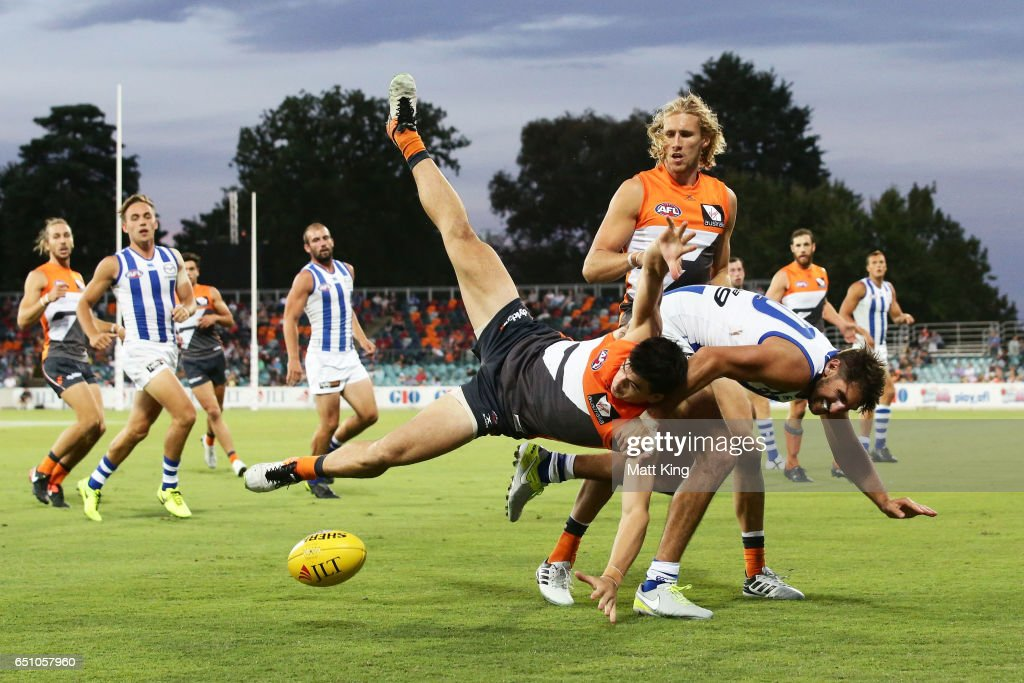 GWS v North Melbourne - 2017 JLT Community Series