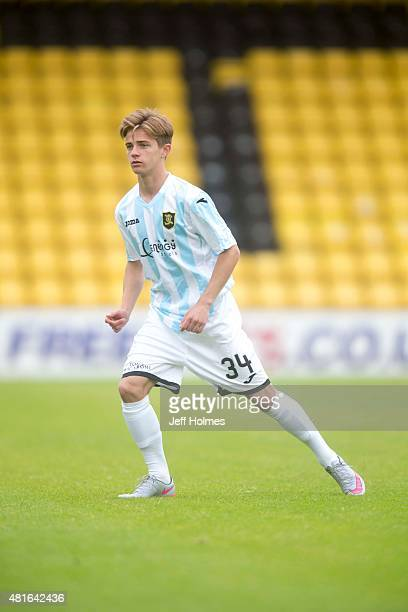 Matthew Knox Livingston at the Pre Season Friendly between Livingston and Motherwell at the City Stadium on July 18th 2015 in Livingston Scotland