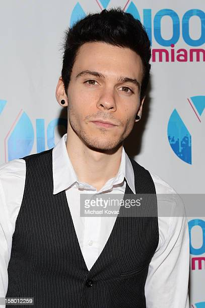 Matthew Koma attends the Y100's Jingle Ball 2012 at the BBT Center on December 8 2012 in Miami