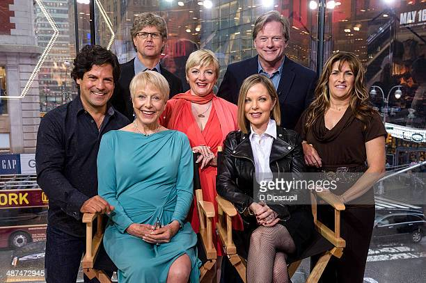 Matthew Labyorteaux Michael Landon Jr Alison Arngrim Dean Butler Lindsay Greenbush Karen Grassle and Melissa Sue Anderson of 'Little House On The...
