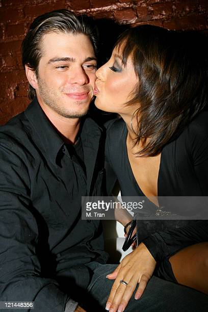 Matthew Lawrence and Cheryl Burke during Us Weekly Presents Us' Hot Hollywood 2007 Inside at Sugar in Hollywood California United States