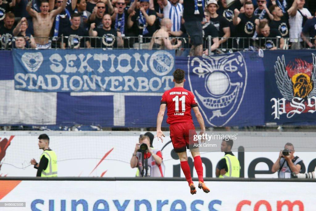 Eintracht Frankfurt v Hertha BSC - Bundesliga : Nachrichtenfoto