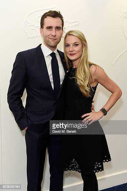 Matthew Lewis and Angela Jones attend the Lacoste VIP Lounge At ATP World Finals 2016 on November 13 2016 in London England