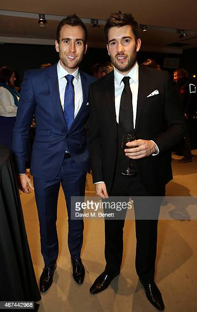 Matthew Lewis and Anthony Lewis attend the after party following the press night performance of 'Northern Ballet's The Great Gatsby' at Sadler's...
