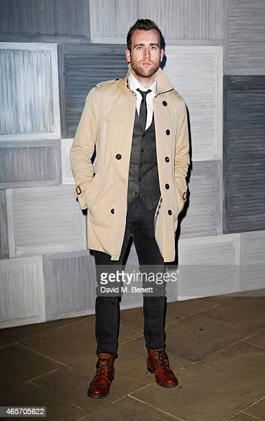 Matthew Lewis arrives at a party hosted by Instagram's Kevin Systrom and Jamie Oliver This is their second annual private party taking place at...